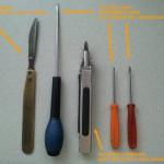 Les outils que j'ai utilisé pour le démontage