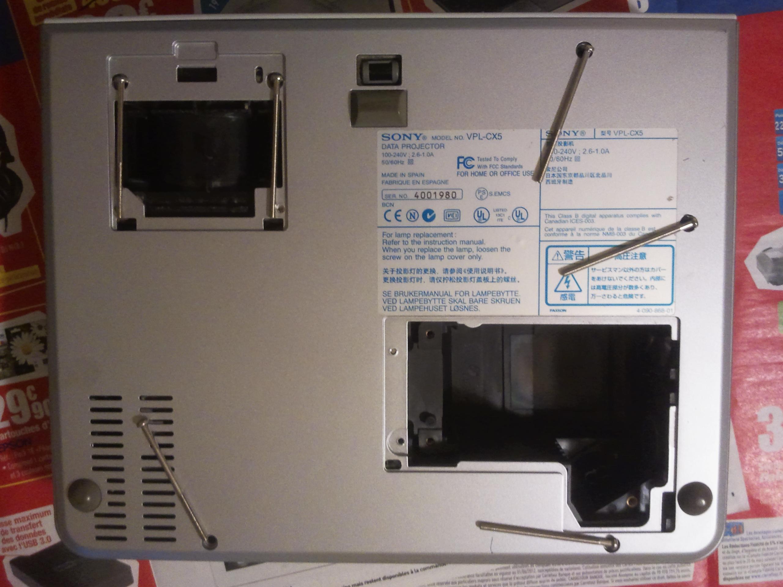 Sony VPL-CX5